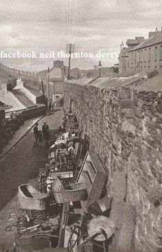 Walls of Derry - images taken the & : The Spirit of Ireland by Lynn Doyle Old Irish, Irish Celtic, Derry City, Ireland Travel, Ireland Map, Images Of Ireland, Irish People, England Ireland, Irish Culture