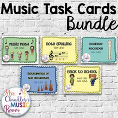 Browse over 90 educational resources created by Marti Chandler in the official Teachers Pay Teachers store. Teacher Resources, Teacher Pay Teachers, Elementary Music, Music Classroom, Music Education, Task Cards, Back To School, Teaching, Store