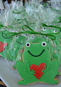 Frog Favors | Cookie Connection