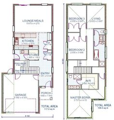 1000 Images About Townhome Floor Plans On Pinterest