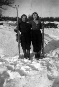 Vintage Ski: Photo
