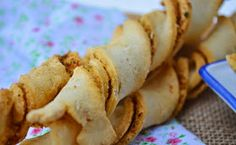 Troll a konyhámban: Fokhagymás paprikás csavart rúd - paleo