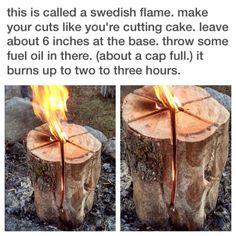 Swedish flame...firestarter