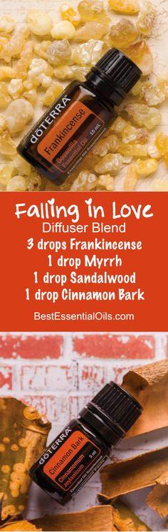 doTERRA Essential Oils Falling in Love Diffuser Blend