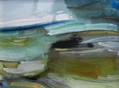 Kenneth Lawson 'The Road to the Mountains - Wales' - Oil on Board