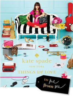 The Kate Spade New York | Things We Love Book.  !!!