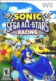sonic & #sega all stars racing  --  #nintendo wii game complete guaranteed from $11.99