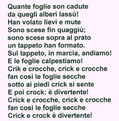 """Maestra Caterina: Poesia d'autunno: """"Le foglie secche"""""""