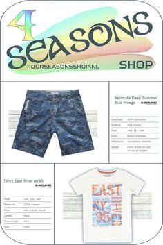 East River, Bermuda Shorts, T Shirt, Blue, Shopping, Fashion, Supreme T Shirt, Moda, Tee Shirt