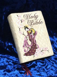Reduced  Cherry Blossom Beauty  Bible Cover by KingdomCovers