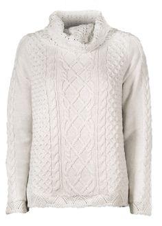 Odd Molly Sweater - Stunning Turtleneck 716M-732 chalk – Acorns