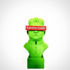 SUPREME Leaders Series Kim By FLABSLAB x Pobber Toys   The Toy Chronicle