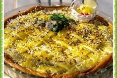 Tarta impletita - Culinar.ro Easter Recipes, Lasagna, Quiche, Breakfast, Ethnic Recipes, Morning Coffee, Quiches, Lasagne