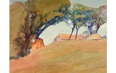 Archibald Knox • Watercolour