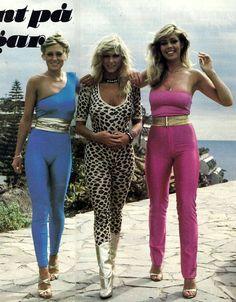 Pois é, nos anos 70, não em Portugal, mas era a época do Disco Sound e estava na moda ;)