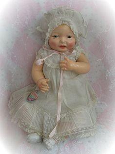 Vintage Effanbee Bubbles Doll Circa 1924 Original