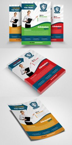 Education Flyer Template. Poster Templates. $6.00