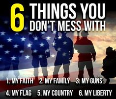 6 Things You Don't Mess With