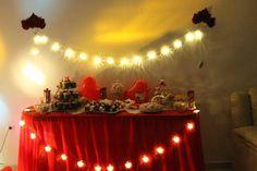 Dessert bar #red