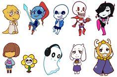 Undertale Characters by Miyu2200.deviantart.com on @DeviantArt