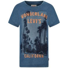 Levis Boys Blue Wonderland California Top