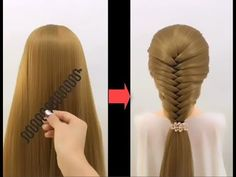 Top 10 amazing hairstyles ♥️ Hairstyles Tutorials ♥️ Easy hairstyles with hair tools - YouTube