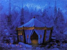 blessed wild apple girl..like the tent I slept in when in the Sahara desert at a camel camp!!