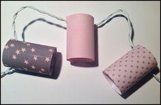 Guirlande lumineuse etoiles rose pale