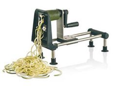Spiral Vegetable Slicer  ...I need one of these to fulfill my pasta cravings. .minus the pasta. .more veggies:)