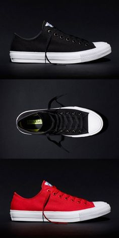 Converse Redesigns 100-year old classic and Introduces the New Chuck Taylor All Star II