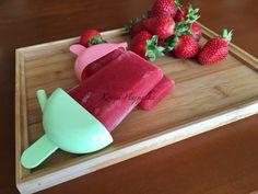 Epres calippo jégkrém házilag Plastic Cutting Board, Watermelon, Ice Cream, Fruit, Cukor, Desserts, Food, Baby, No Churn Ice Cream
