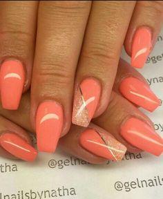 Nails Ongle En Gel Été, Ongle Gel Couleur, Ongles Longs, Jolis Ongles