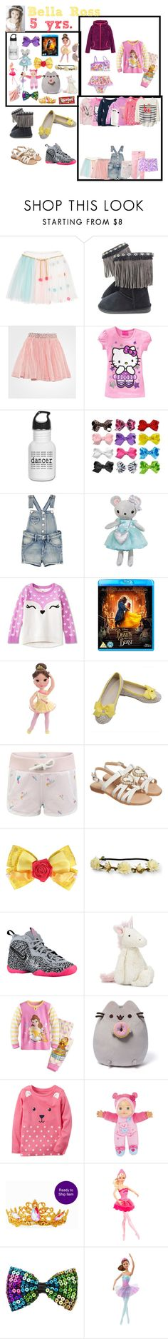 """Bella(5)"" by laylaitaly ❤ liked on Polyvore featuring Carter's, Billieblush, Noa Noa, Hello Kitty, Disney, Moschino, Aéropostale, NIKE, Jellycat and Lilly Pulitzer"