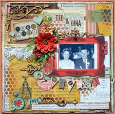 Ted & Dina by Denise van Deventer - Scrapbook.com