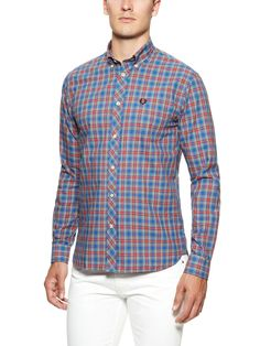 Tartan Sport Shirt by Fred Perry at Gilt