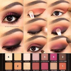 I have to show some love to the @anastasiabeverlyhills Modern Renaissance palette! ❤️ These are some of my favorite eyeshadow colors, so I combined orange and berry for the fun smokey eye in today's tutorial! To start, I primed my lids and set them with an eyeshadow one shade lighter than my skin tone. 1. With a flat shader brush (this is from the @zoevacosmetics Rose Golden set), I applied Realgar in a winged shape, starting in the outer corner and sweeping it toward the inner corner. I ...