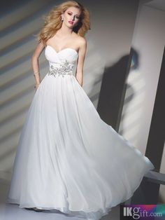 This would be nice in pale pink - 2012 Style A-line Sweetheart Beading  Sleeveless Floor-length Chiffon Prom Dresses   Evening Dresses 56ddba5bc