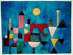 PAUL KLEE, Unique Oil Painting by hand after Red Bridge. Exclusive Art as a Present. Gift Rare Art, Very Different Gift Idea Surprise Watercolor Paintings Abstract, Abstract Painters, Watercolor Artists, Abstract Oil, Joan Miro Paintings, Famous Artists Paintings, Indian Paintings, Oil Paintings, Landscape Paintings