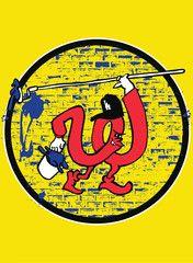 """""""W"""" print by Slanguage ($25)"""