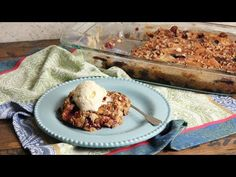 Peach and Blueberry Dump Cake Recipe| Laura in the Kitchen