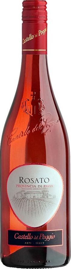 Probably the best tasting wine I've ever had.    Castello del Poggio Rosato.