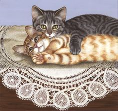 Cat image 8 -- by Sue Wall, Cypress Fine Art Licensing