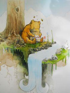 Winnie the pooh by ~oswalddent on deviantART