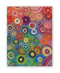 Abstract Original Painting 20x16in by HeatherMontgomeryArt on Etsy, $79.00