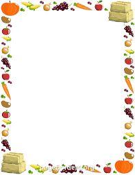 Free Fall Borders: Clip Art, Page Borders, and Vector Graphics Boarder Designs, Page Borders Design, Paper Bag Scrapbook, Scrapbook Frames, Borders For Paper, Borders And Frames, Food Border, How To Make A Paper Bag, Christmas Border