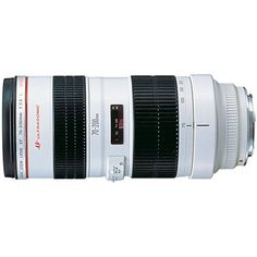 Canon EF 70-200mm f/2.8L USM Telephoto Zoom Lens for Canon SLR Cameras by Canon. $1349.00. From the Manufacturer                One of the finest telephoto zoom lenses in Canon's EF line, this 70-200mm f/2.8 lens offers comparable optics to a single focal-length lens. The lens employs four UD-glass elements to minimize chromatic aberrations, creating sharp, high-quality images regardless of the application. The constant f/2.8 maximum aperture, meanwhile, makes the ...