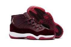 Buy 2017 Air Jordan 11 Velvet Maroon Gold Flower Print Shoes Nike Shoes Shop - Cheap Air Jordan 11 For Sale Air Jordan Retro, Nike Air Jordan 11, Jordan Xi, Jordan Tenis, Jordan Swag, Jordan Logo, Jordan Shoes Girls, Michael Jordan Shoes, Air Jordan Shoes