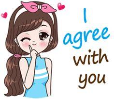Boobib Beautiful Girl – LINE stickers Love Cartoon Couple, Cute Cartoon Pictures, Cute Love Pictures, Cute Love Gif, Cute Cartoon Girl, Cute Love Cartoons, Cute Drawings Of Love, Cute Cartoon Drawings, Funny Emoticons