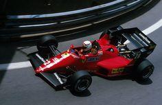 Rene Arnoux, Ferrari 126C4, 1984 Monaco GP, Monte Carlo