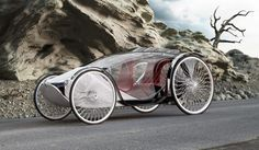 Eco-Friendly Vehicles - Design meets green in these awesome futuristic eco-friendly vehicles, many of which are coming soon to highways, bike paths, air strips and dirt ro. E Quad, Velo Cargo, Electric Cars, Electric Vehicle, Pedal Cars, Bike Design, Go Kart, Tricycle, Cool Bikes